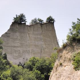 Изветрели от времето пясъчници в района на  град Мелник