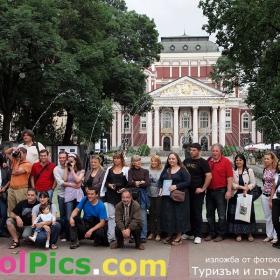 Туризъм и пътувания 2009 ни събра пред Народния театър!