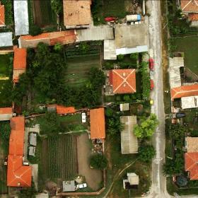 С хексакоптера над селото на жена ми(с.Катуница)