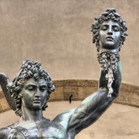 Персей с главата на Медуза, Бенвенуто Челини, Флоренция