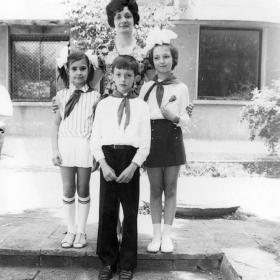 1975г. в края на трети клас