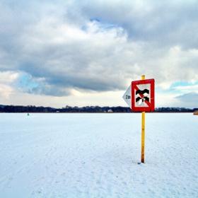 Опасно вълнение следващите 2 км (напролет, като се разтопи ледът)