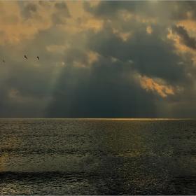 Една не чак толкова празна... вече :) снимка с море...
