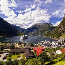 GEIRANGER- Norway!!! Истинският и отвътре. Насладете му се!. За всички мои приятели!!!!