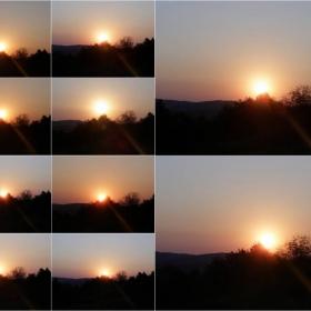 Велико Търново-изгревът...