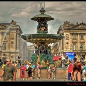 Площад Конкорд - Париж