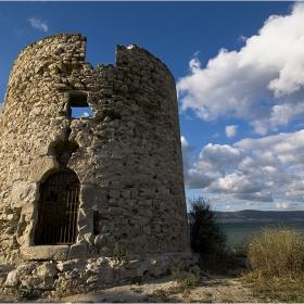 Руини от мелница до базиликата