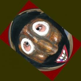 Кукерска маска на Сурвакарска група гр.Батановци, област Перник