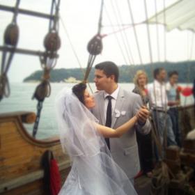 Сватба на кораб