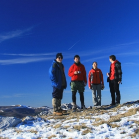 На връх Исполин....01.01.2011г....