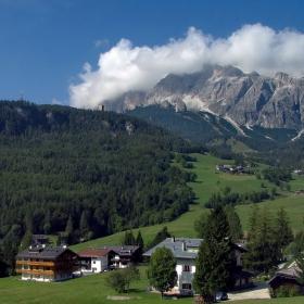 Живот по италиански в Алпите...