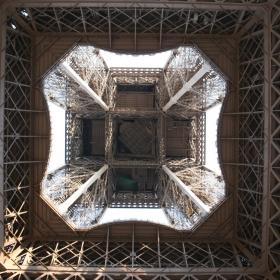 Под  д....то  на  кулата - Моят поглед към символа на Париж