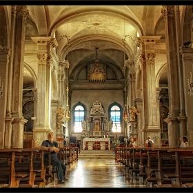 И един по-спокоен кадър от Бурано - църквата \