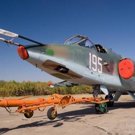 Су-25К      60 г. Авиобаза Безмер