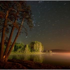 Нощем на яз.Широка поляна