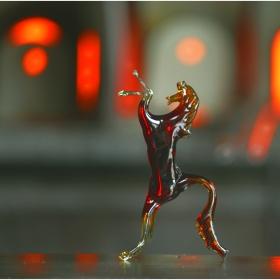 Венецианско стъкло - резултата от демонстрацията на майстора - стъклар