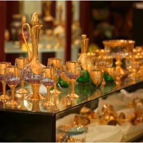 Венецианско стъкло - сервизи