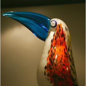 Венецианско стъкло - птица
