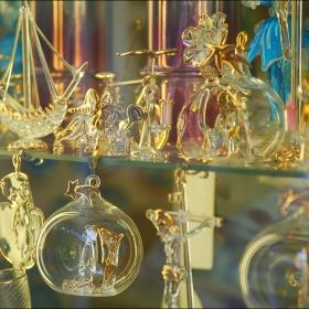 Венецианско стъкло - витрина