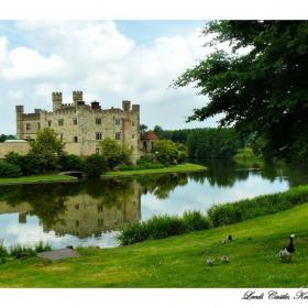 Замъкът Лийдс, Кент, Южна Англия (Leeds Castle, Kent, England)
