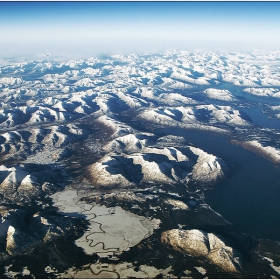 Някъде над Аляска