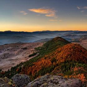Изгрев на връх Св. Неделя