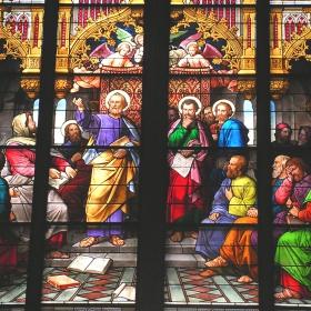 Кьолнската катедрала - Витраж
