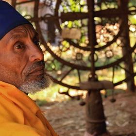 етиопски монах
