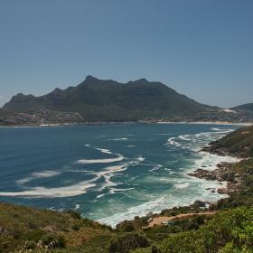Из Table Mountain National Park (1) - залив в Атлантика