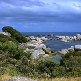 Из Table Mountain National Park (2) - малък залив в Атлантика