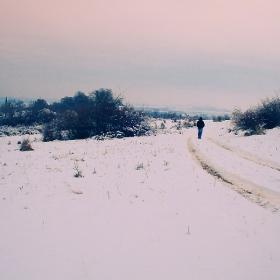 По зимната пътека...