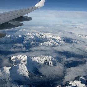 Над Скалистите планини
