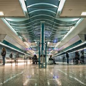 В Софийското метро.....