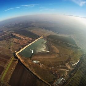 Хексакоптер ,камера GOPRO HD,250м височина ,Пловдивското поле,с.Моминско