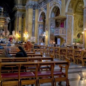 Рим в един неделен ден (Chiesa di Santa Maria in Traspontina)