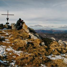 На връх Исполин....