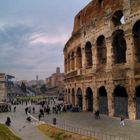 Рим в един неделен ден (Колизеумът и Арката на Константин)