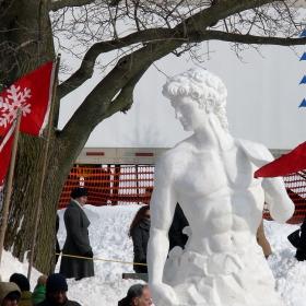 Давид ,от сняг