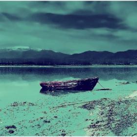 Лодката...