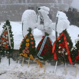 3 март 2011г - Цветя за героите от Шипченската епопея
