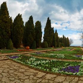 Балчик, Ботаническа градина