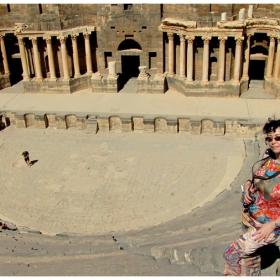 Римският театър в Босра 2