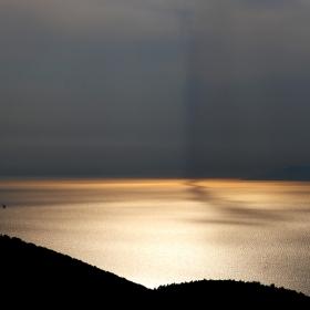 Тривиално... залез над Егейско море