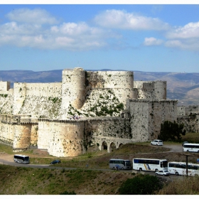 Crac des Chevaliers, замъкът на кръстоносците
