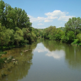 Река Тунджа край с. Срем