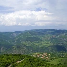 Поглед към село Скрино