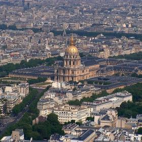Париж от птичи поглед 4