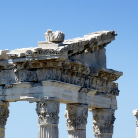 Фрагмент от библиотеката в Пергам 2