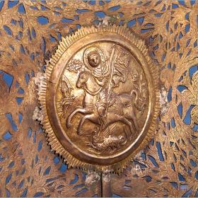 Хоругва с образа на св. Георги