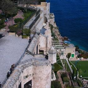 Монако - Крепостната стена